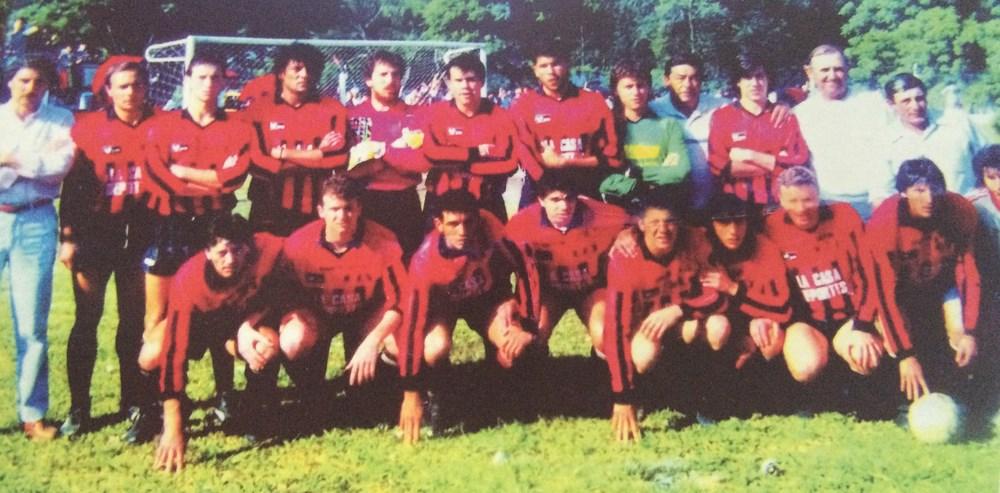 1991. Campeón Primera División y Campeón Copa Provincia de Santa Fe