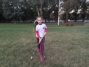 Entrenamiento Hockey Menores
